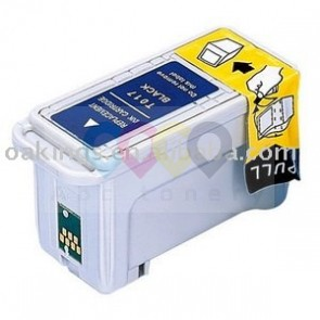 Inkjet compatible cartridge Epson T017 Black