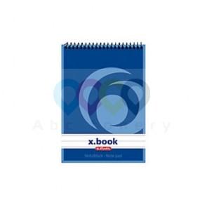 Herlitz Top spirálový zápisník A6 50 stran, linkovaný