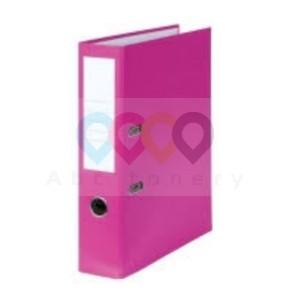 Pákový pořadač - 80 mm, růžový