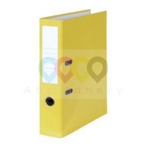 Pákový pořadač - 80 mm, žlutý
