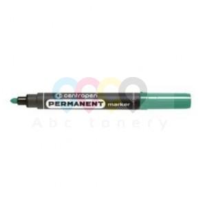 Permanentní popisovač Centropen 8566, zelený