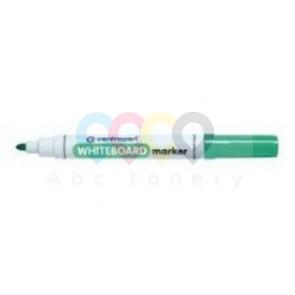 Popisovač na bílé tabule Centropen 8559, kulatý hrot: 2-3 mm, zelený