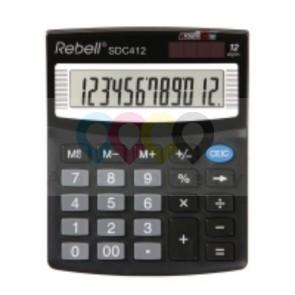 Rebell SDC412 stolní kalkulačka
