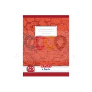 Sešit Herlitz 523 A5 linkovaný