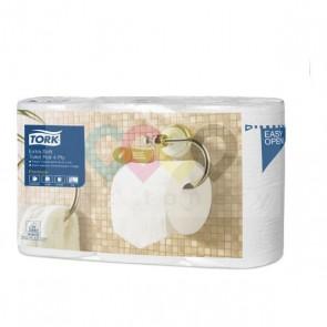 Tork Extra jemný toaletní papír konvenční role Premium – 4vrstvý